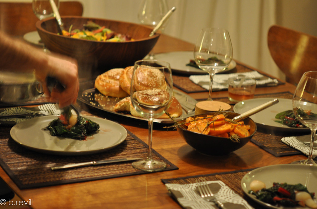Describe a time when you invited someone to have dinner at home or a restaurant