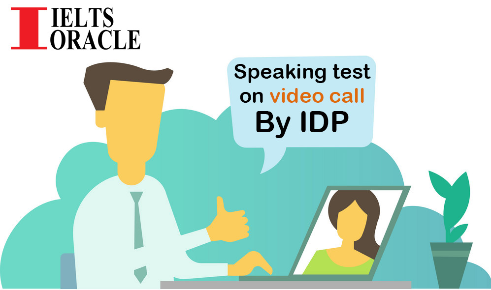IELTS speaking test on Video Call