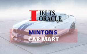 IELTS Listening-Mintons Car Mart