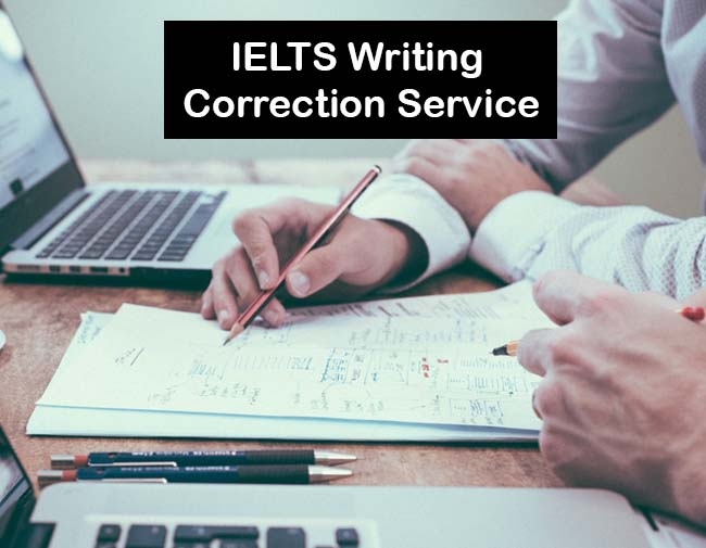 Writing correction services IELTS