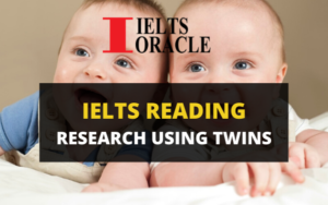Ielts Reading-Research using twins