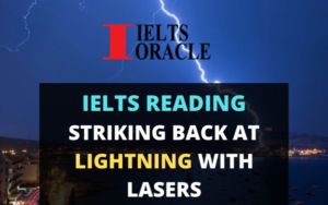 Ielts Reading- Striking Back at Lightning with Lasers