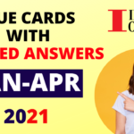 Cue Cards list January to April 2021