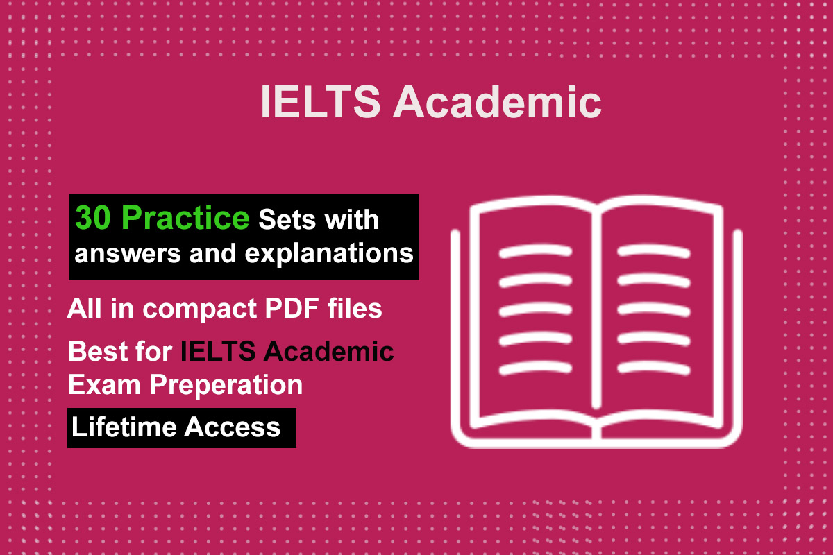 IELTS academic 30 Reading practice sets