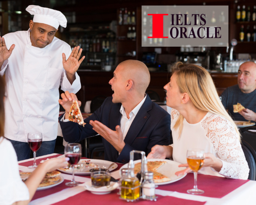 Talk about a time when you received bad customer service at a restaurant| Cue card 2021 Talk about a time when you received bad customer service at a restaurant